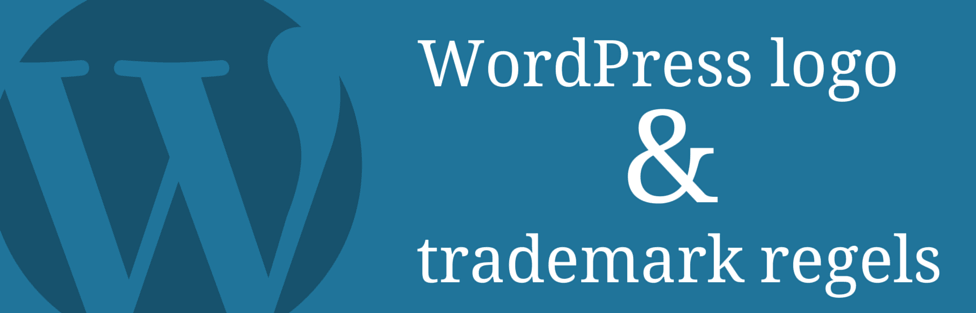 WordPress logo en Trademark regels